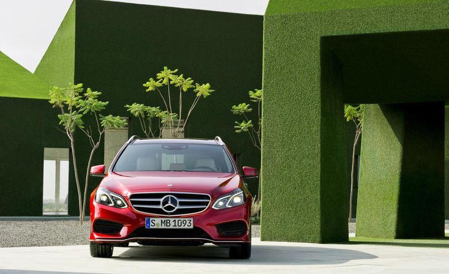 2014 Mercedes-Benz E250 wagon, E300 BlueTec Hybrid, and E350 4MATIC - Slide 52