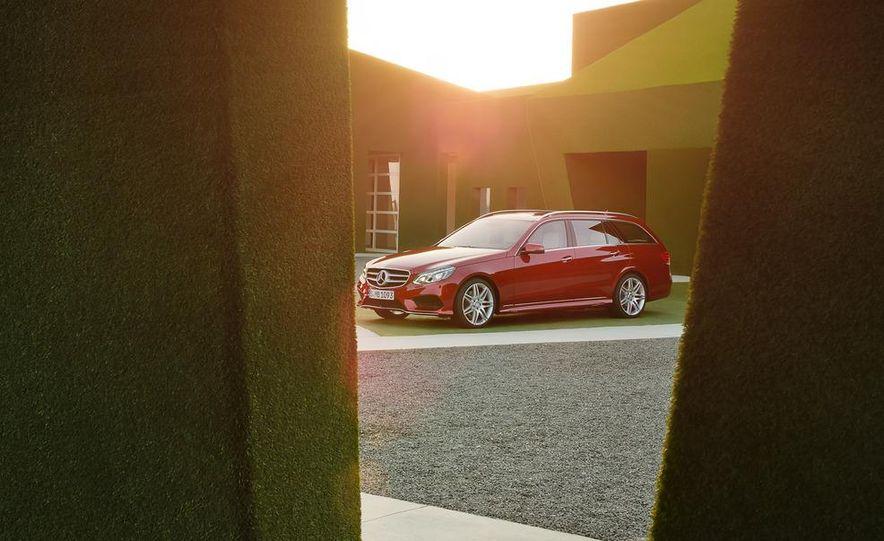 2014 Mercedes-Benz E250 wagon, E300 BlueTec Hybrid, and E350 4MATIC - Slide 53