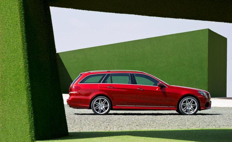 2014 Mercedes-Benz E250 wagon, E300 BlueTec Hybrid, and E350 4MATIC - Slide 54