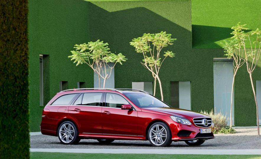 2014 Mercedes-Benz E250 wagon, E300 BlueTec Hybrid, and E350 4MATIC - Slide 55