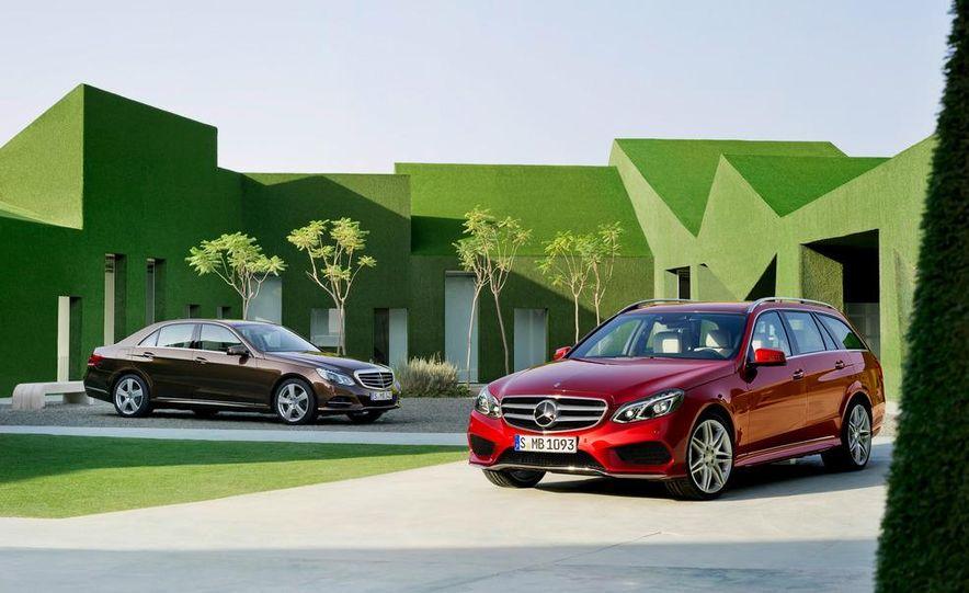2014 Mercedes-Benz E250 wagon, E300 BlueTec Hybrid, and E350 4MATIC - Slide 3