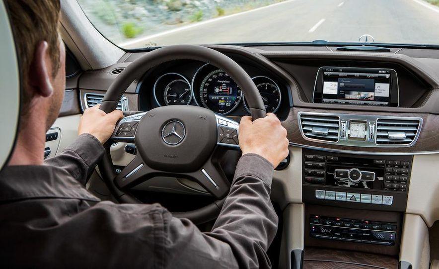 2014 Mercedes-Benz E250 wagon, E300 BlueTec Hybrid, and E350 4MATIC - Slide 36