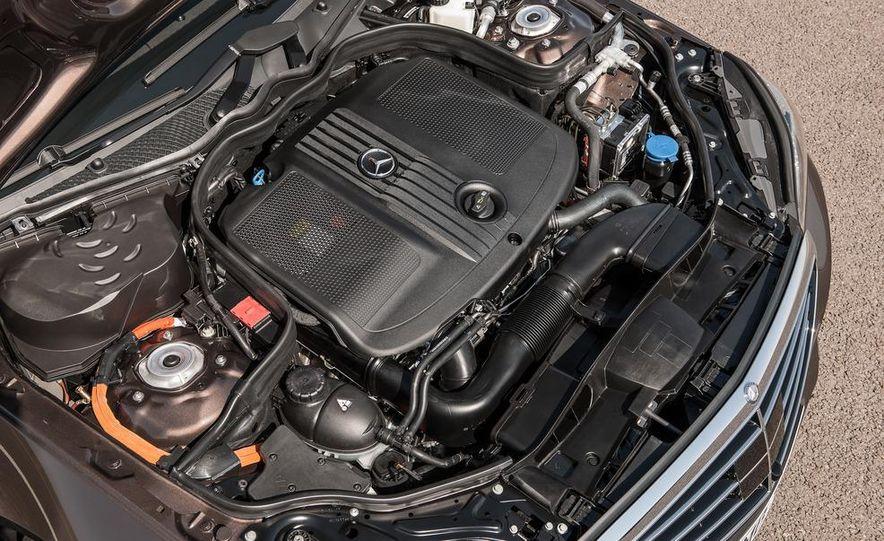 2014 Mercedes-Benz E250 wagon, E300 BlueTec Hybrid, and E350 4MATIC - Slide 37
