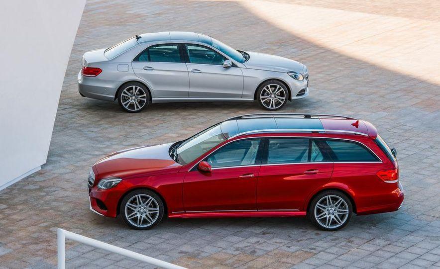 2014 Mercedes-Benz E250 wagon, E300 BlueTec Hybrid, and E350 4MATIC - Slide 2