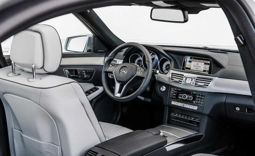 2014 Mercedes-Benz E250 wagon, E300 BlueTec Hybrid, and E350 4MATIC - Slide 10