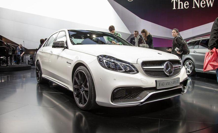 2014 Mercedes-Benz E63 AMG S 4MATIC sedan - Slide 1