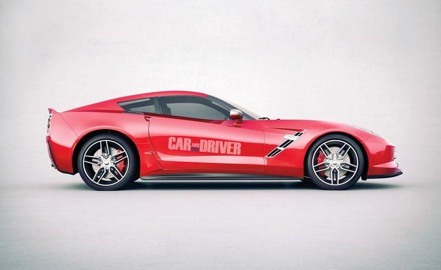 2014 Chevrolet Corvette C7 6.2-liter V-8 engine (artist's rendering) - Slide 2