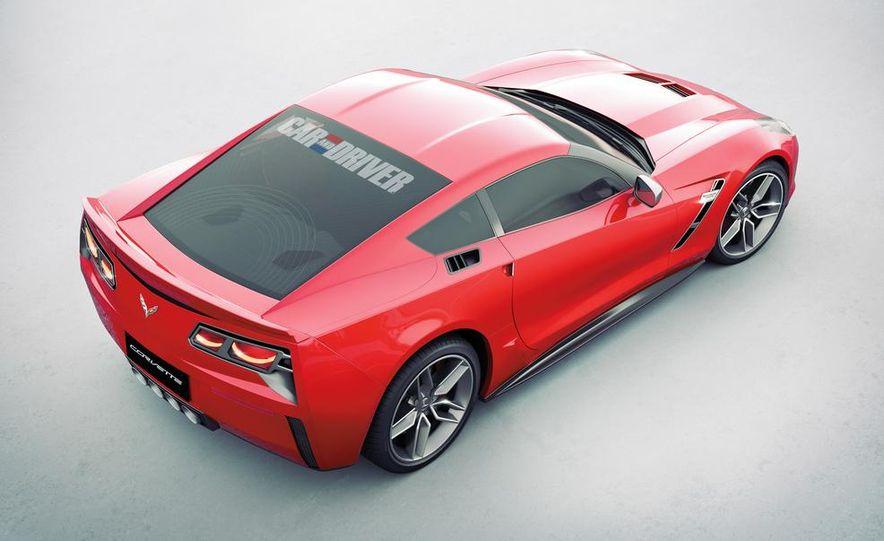 2014 Chevrolet Corvette C7 6.2-liter V-8 engine (artist's rendering) - Slide 3