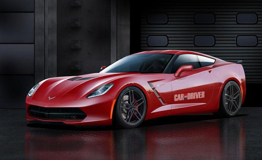 2014 Chevrolet Corvette C7 6.2-liter V-8 engine (artist's rendering) - Slide 5