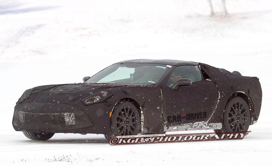 2014 Chevrolet Corvette C7 6.2-liter V-8 engine (artist's rendering) - Slide 13