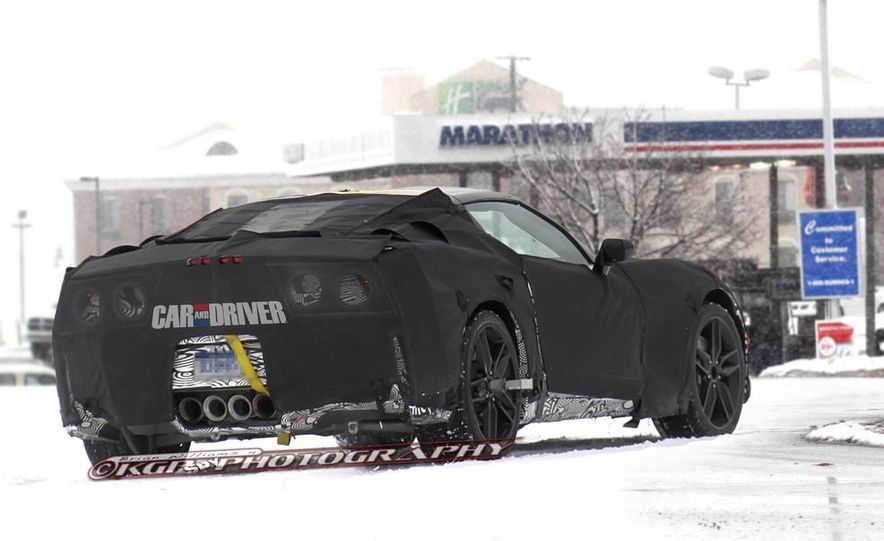 2014 Chevrolet Corvette C7 6.2-liter V-8 engine (artist's rendering) - Slide 20