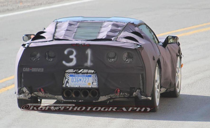 2014 Chevrolet Corvette C7 6.2-liter V-8 engine (artist's rendering) - Slide 49