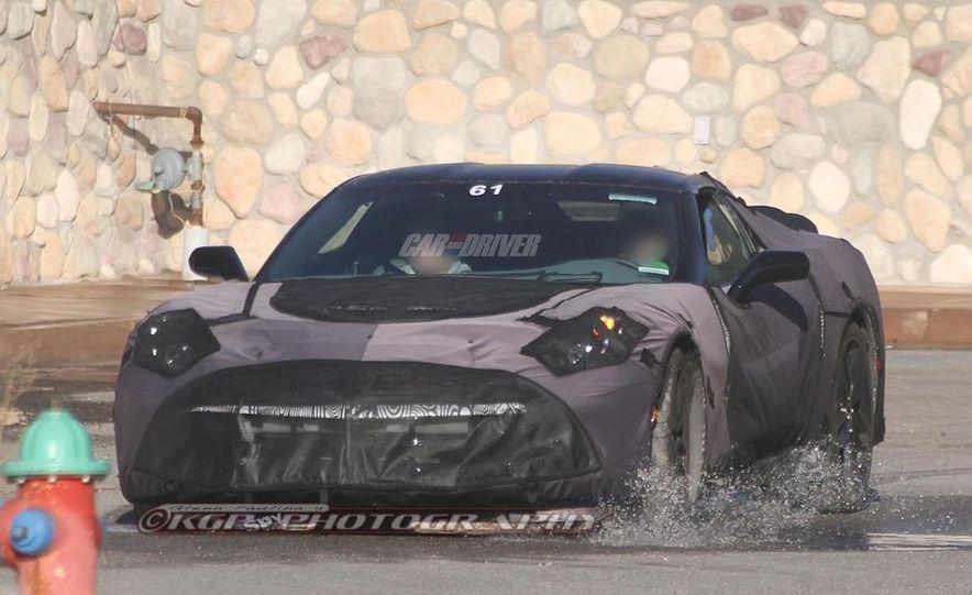 2014 Chevrolet Corvette C7 6.2-liter V-8 engine (artist's rendering) - Slide 52