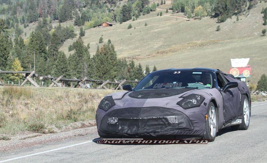 2014 Chevrolet Corvette C7 6.2-liter V-8 engine (artist's rendering) - Slide 56
