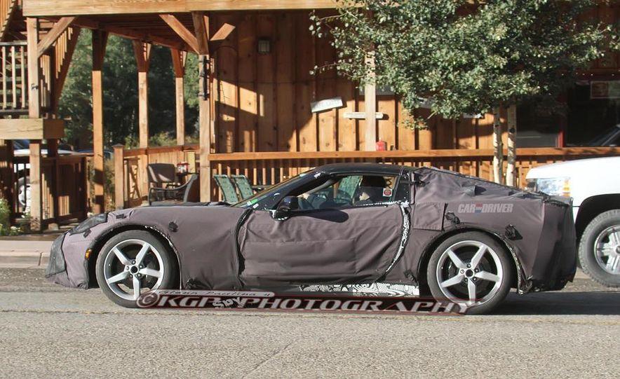 2014 Chevrolet Corvette C7 6.2-liter V-8 engine (artist's rendering) - Slide 57