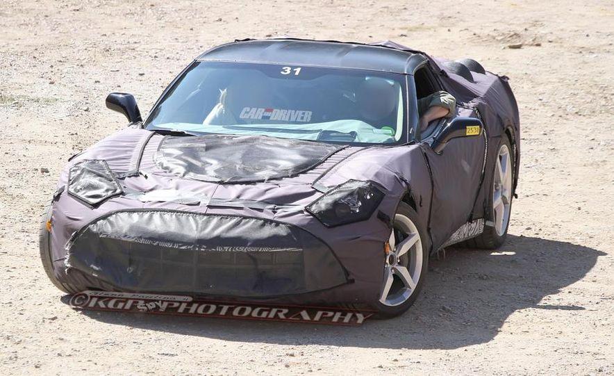 2014 Chevrolet Corvette C7 6.2-liter V-8 engine (artist's rendering) - Slide 58