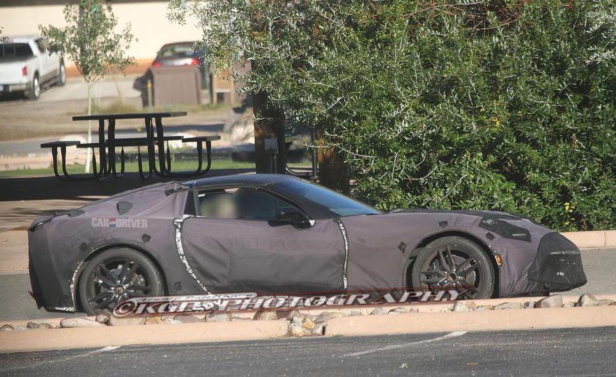 2014 Chevrolet Corvette C7 6.2-liter V-8 engine (artist's rendering) - Slide 59