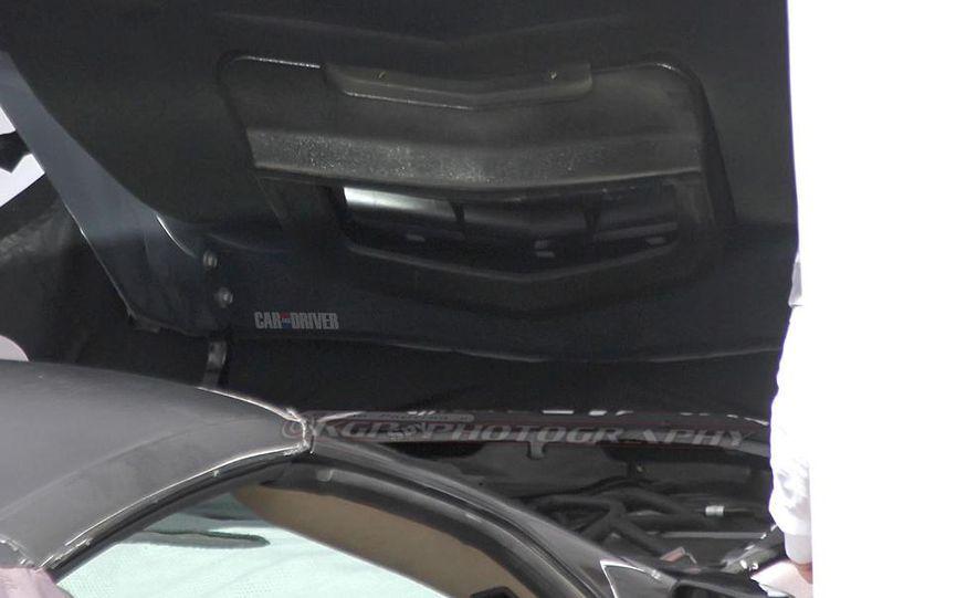 2014 Chevrolet Corvette C7 6.2-liter V-8 engine (artist's rendering) - Slide 80