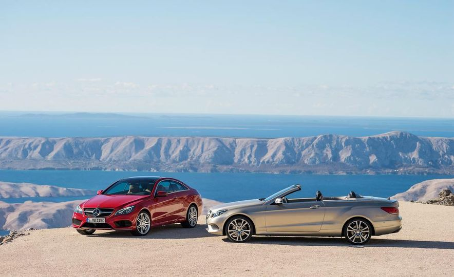 2014 Mercedes-Benz E-class coupe - Slide 15