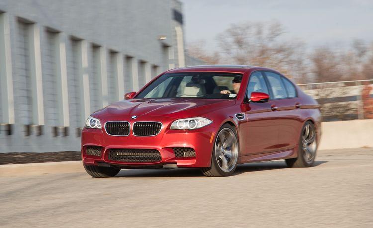 2013 BMW M5 Manual