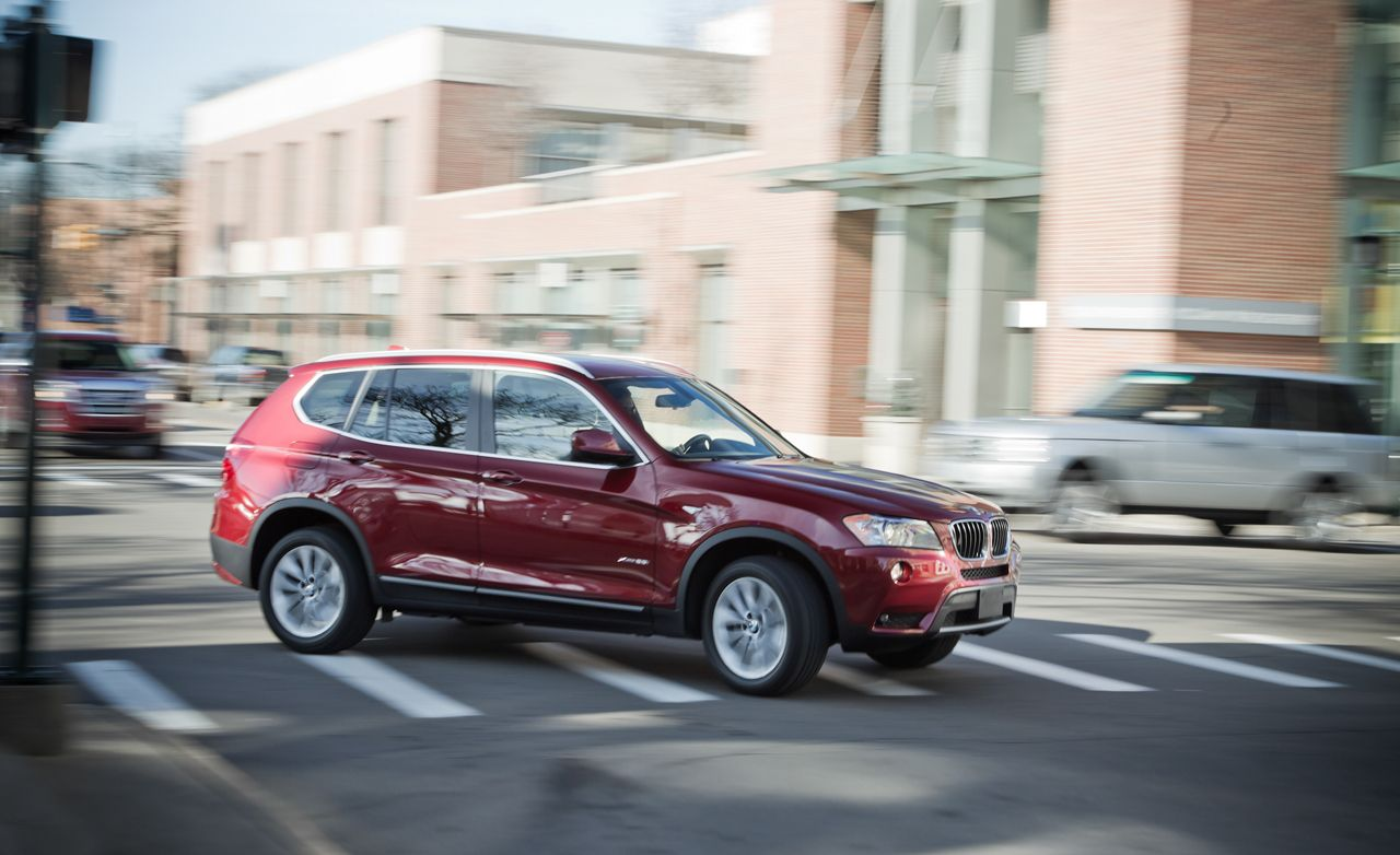 2013 bmw x3 xdrive28i test – review – car and driver