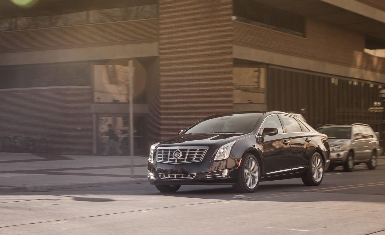 2013 cadillac xts fwd premium test review car and driver rh caranddriver com Future Large Cadillac Sedan Cadillac ELR