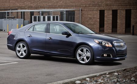 2013 Chevrolet Malibu LTZ 2.0 Turbo