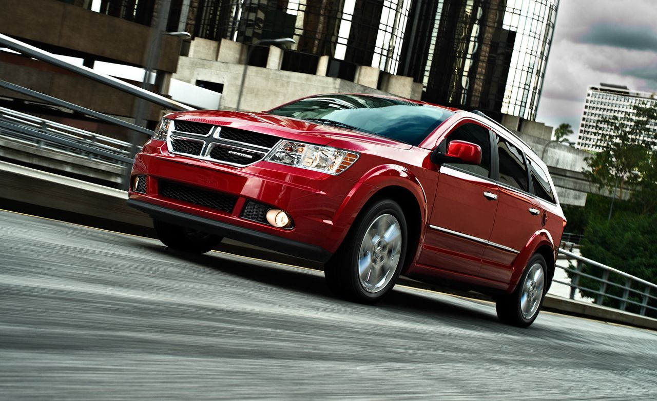 2013 dodge journey v-6 awd test – review – car and driver