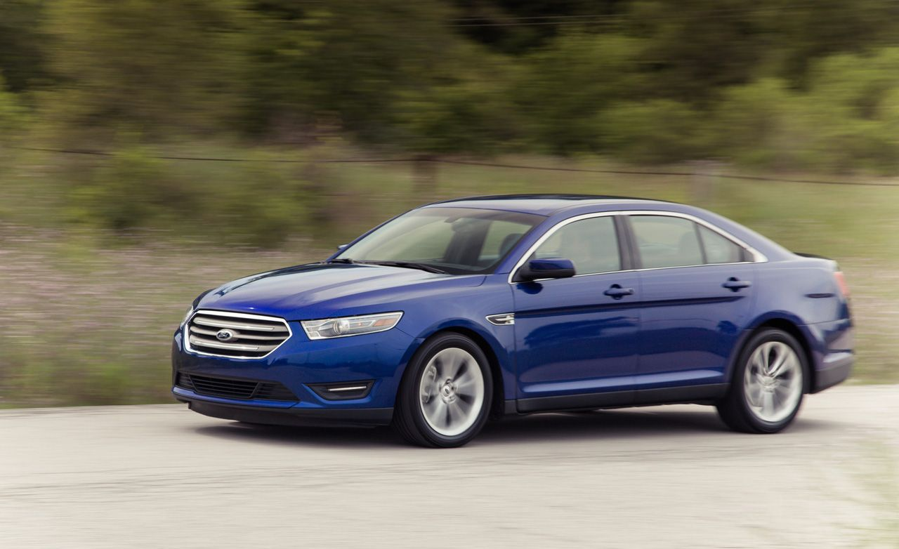 2013 ford taurus 2 0l ecoboost test review car and driver