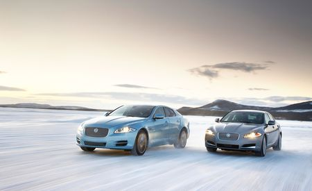 2013 Jaguar XF and XJ 3.0 AWD