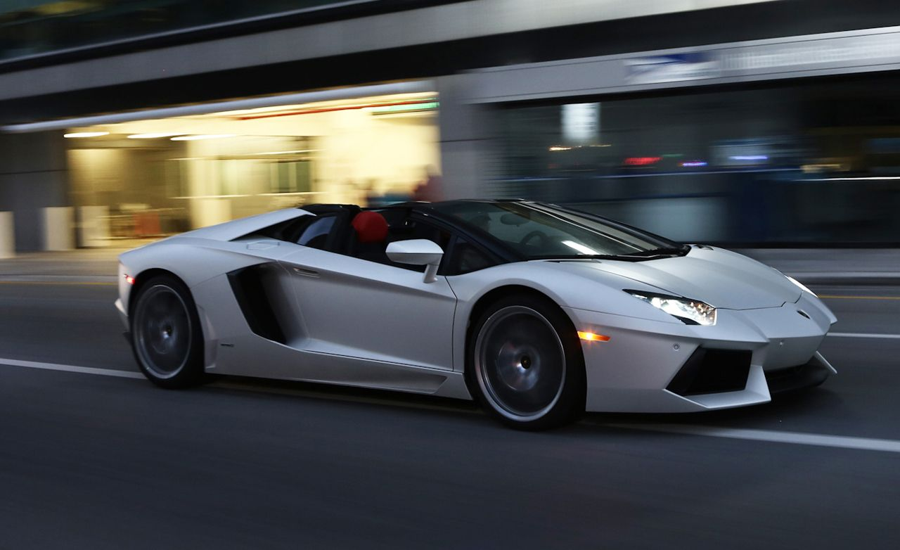 2013 lamborghini aventador lp700-4 roadster first drive | review
