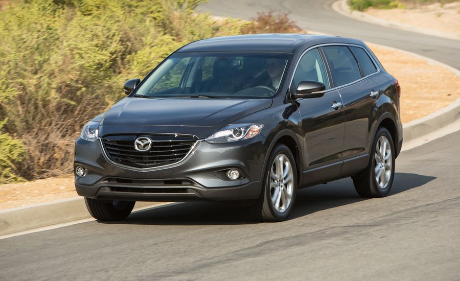 2013 mazda cx 9 awd test review car and driver. Black Bedroom Furniture Sets. Home Design Ideas
