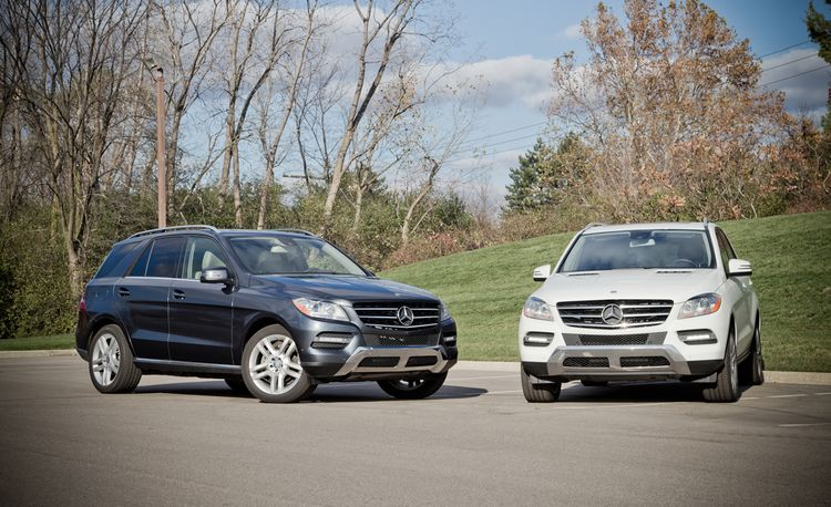 2013 Mercedes-Benz ML350 RWD / 4MATIC