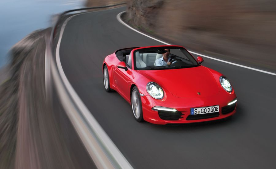 2013 Porsche 911 Carrera S Cabriolet Test Review Car And Driver