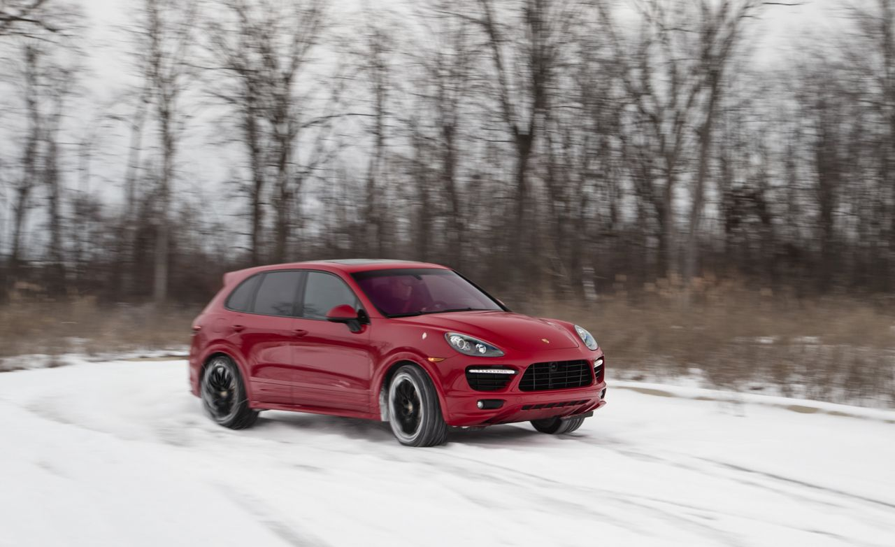 2013 porsche cayenne gts test review car and driver. Black Bedroom Furniture Sets. Home Design Ideas