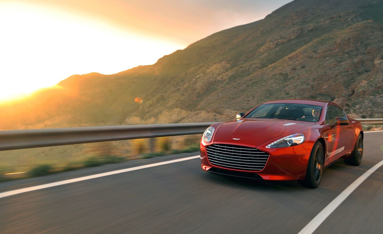 Aston Martin Rapide S Test Review Car And Driver - 2018 aston martin rapide s