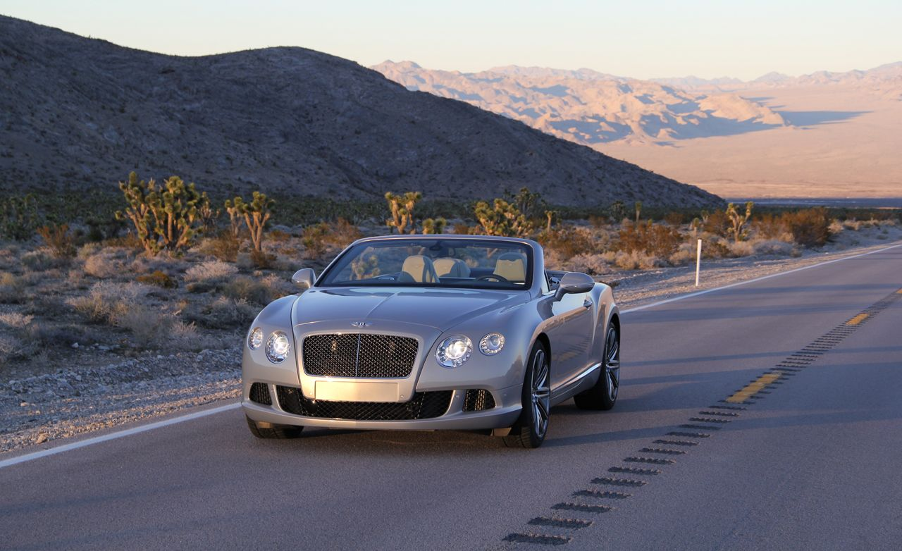 Great 2014 Bentley Continental GT Speed Convertible