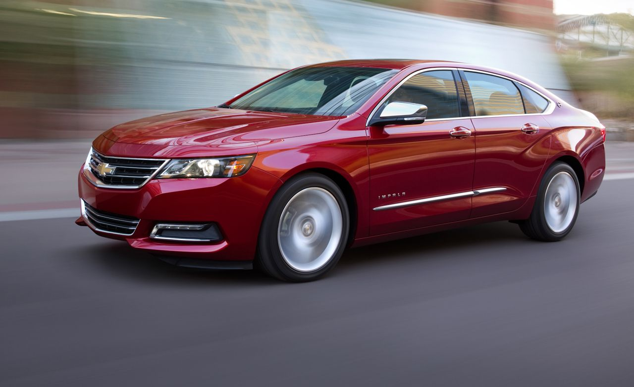2014 Chevrolet Impala First Drive Review Car And Driver