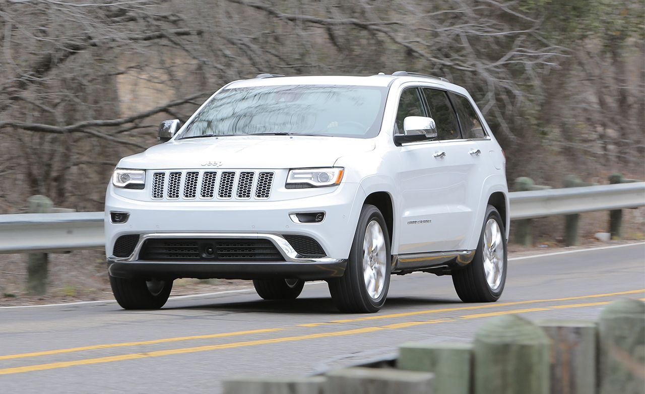 2014 Jeep Grand Cherokee EcoDiesel V-6 First Drive | Review | Car and Driver