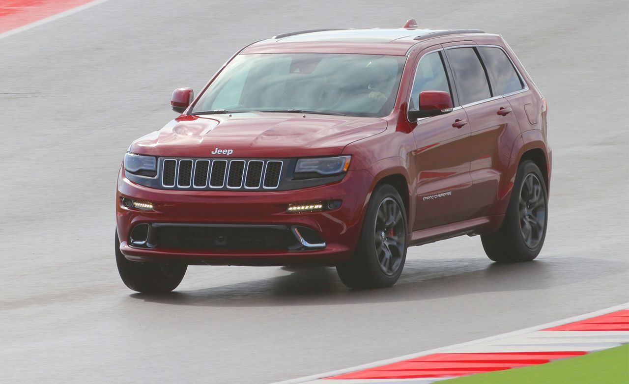 2014 jeep grand cherokee srt first drive review car. Black Bedroom Furniture Sets. Home Design Ideas