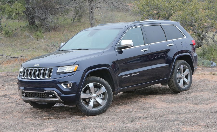 2014 jeep grand cherokee v 6 v 8 first drive review car and driver. Black Bedroom Furniture Sets. Home Design Ideas