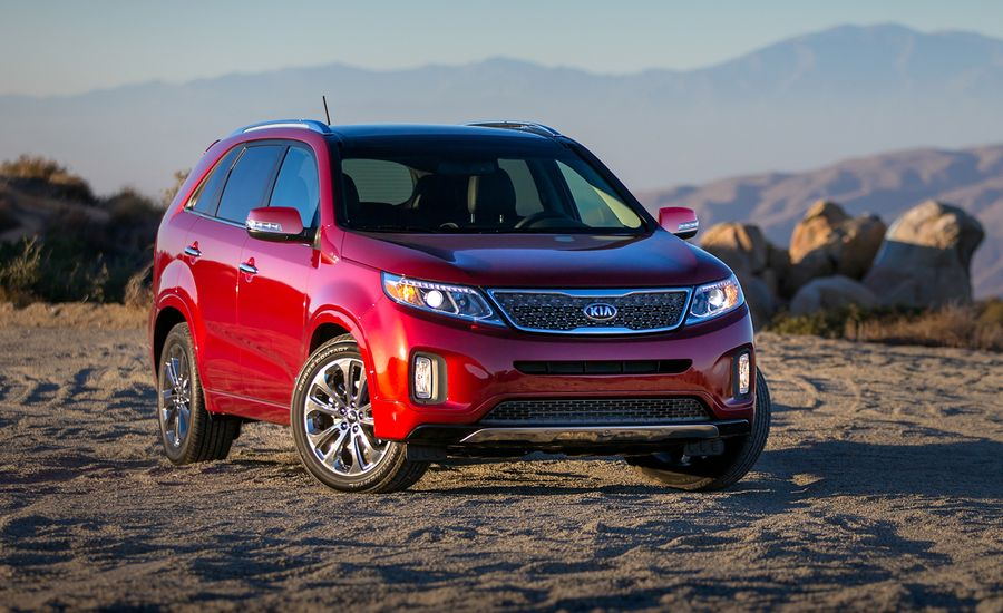 2014 Kia Sorento First Drive Review Car And Driver