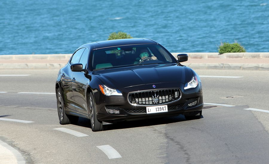 2014 maserati quattroporte first drive review car and. Black Bedroom Furniture Sets. Home Design Ideas
