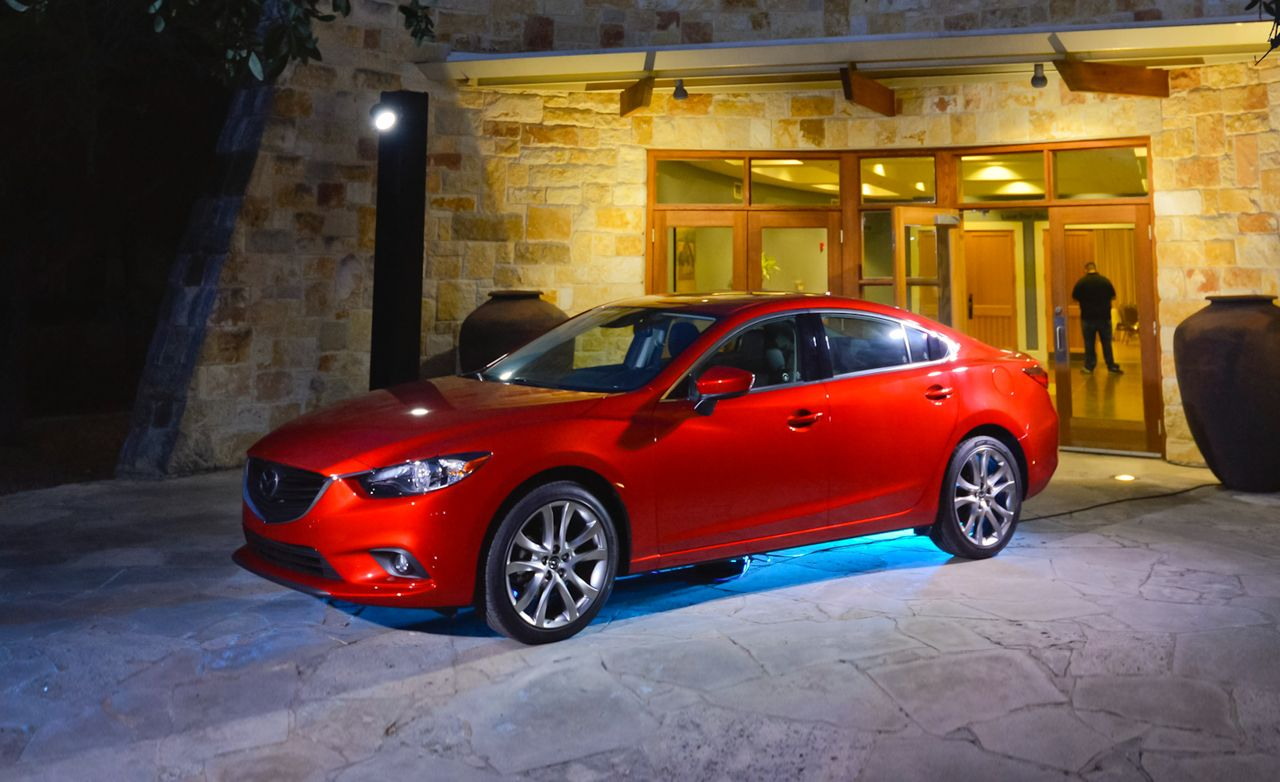 2014 mazda 6 2.5l first drive – review – car and driver