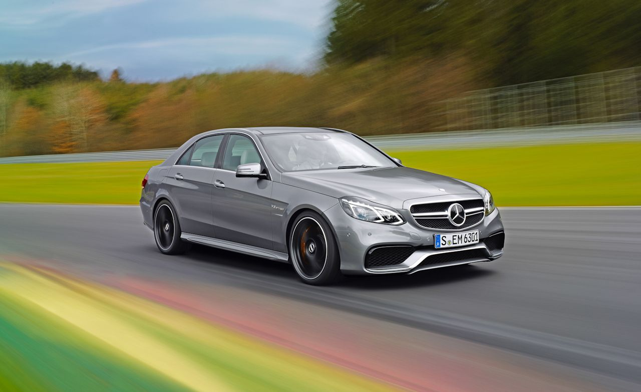 2014 Mercedes Benz E63 Amg First Ride Review Car And Driver