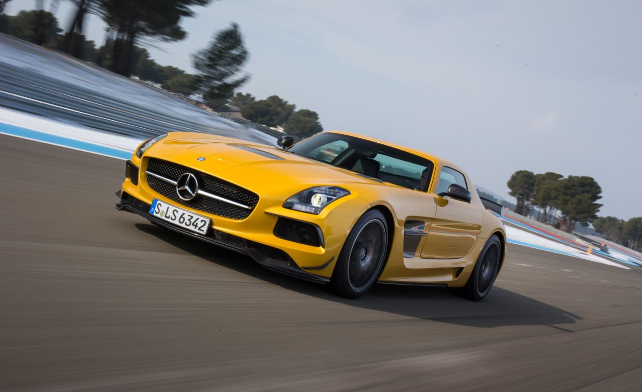 Superb 2014 Mercedes Benz SLS AMG Black Series