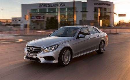 2015 Mercedes-Benz E400 Twin-Turbo V-6