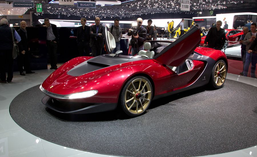 2013 Pininfarina Sergio Concept: A Barchetta Aimed at the Future