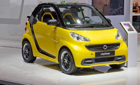 2013 Smart Fortwo Cityflame