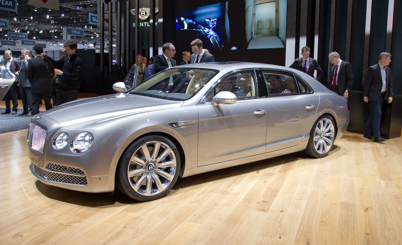 2014 Bentley Flying Spur Photos And Info